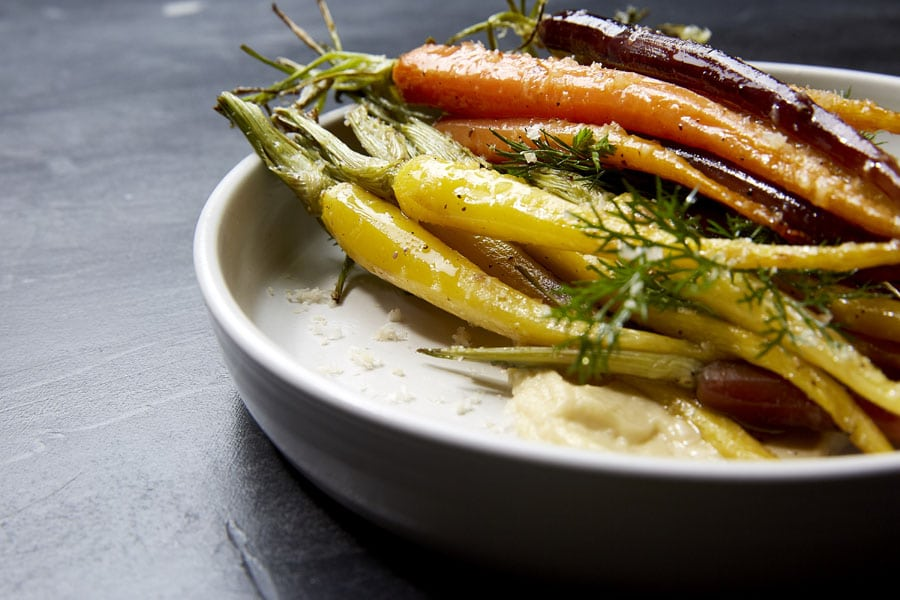 Heirloom Carrots.