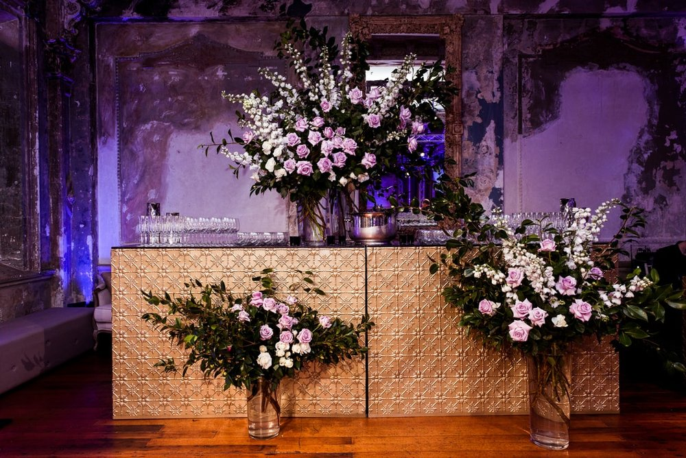 Floral Arrangement and Bar - The George Ballroom St Kilda