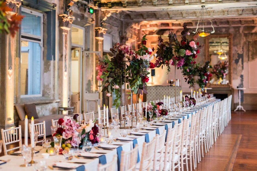 Sunday Wedding Packages at Wedding Venue - The George Ballroom - Photography Sabine Le Grand.