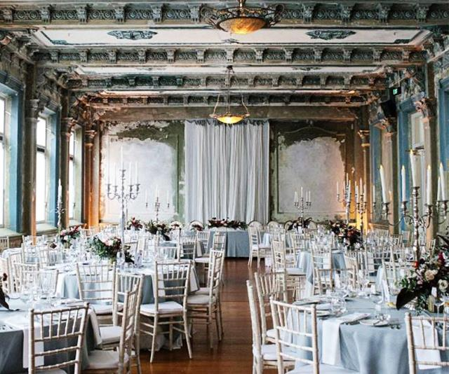 The George Ballroom - As featured in the article WEDDING LOCATIONS MELBOURNE: THE BEST VENUES, FROM THE BOHEMIAN TO THE HIGH-END.