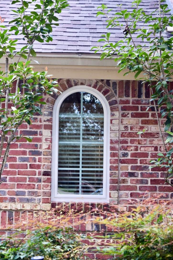 Arch Window With Grid