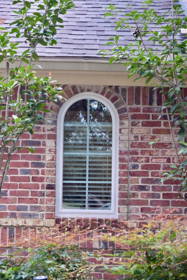Showcase Arch Window
