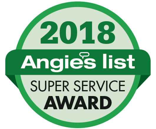 Angie's List Super Service Award Winner 2018