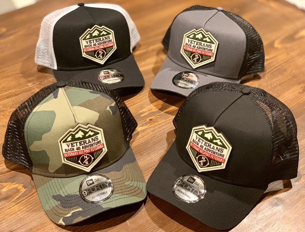 NEW!  VB40A Velcro Patch Hats Snap Back Hat - Show Your support with the all new VB40A Hat!