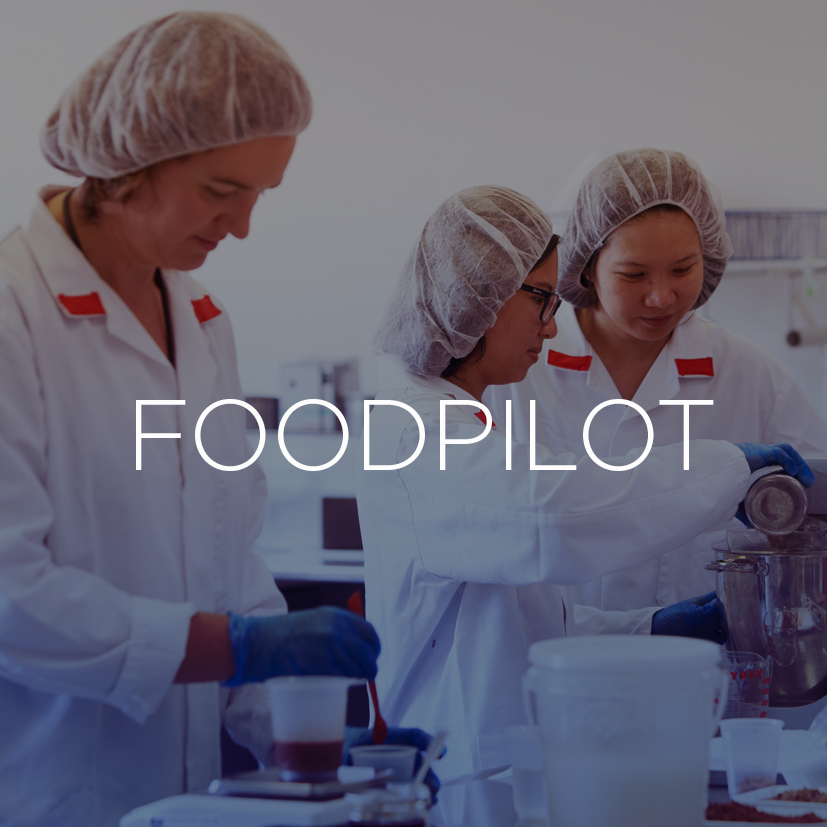 FOODPILOT - FoodPilot works with food and beverage companies and entrepreneurs to help them transform their ideas into products and solutions. As well as offering the largest collection of pilot-scale processing equipment in the southern hemisphere, FoodPilot has a dedicated team of experienced food technologists and engineers and access to the wealth of expertise within Massey University and the FoodHQ Partners. They provide a full range of food technology services, including facilitated workshops and ideation, new product development, food safety evaluation and shelf life determination.