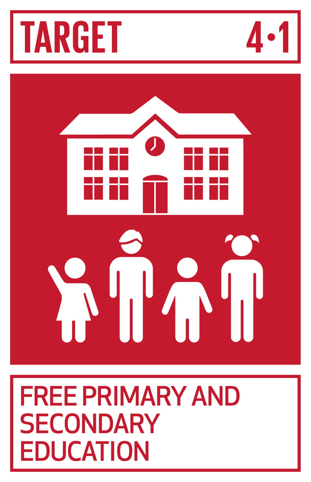By 2030, ensure that all girls and boys complete free, equitable and quality primary and secondary education leading to relevant and effective learning outcomes.   INDICATOR    4.1.1  Proportion of children and young people (a) in grades 2/3; (b) at the end of primary; and (c) at the end of lower secondary achieving at least a minimum proficiency level in (i) reading and (ii) mathematics, by sex