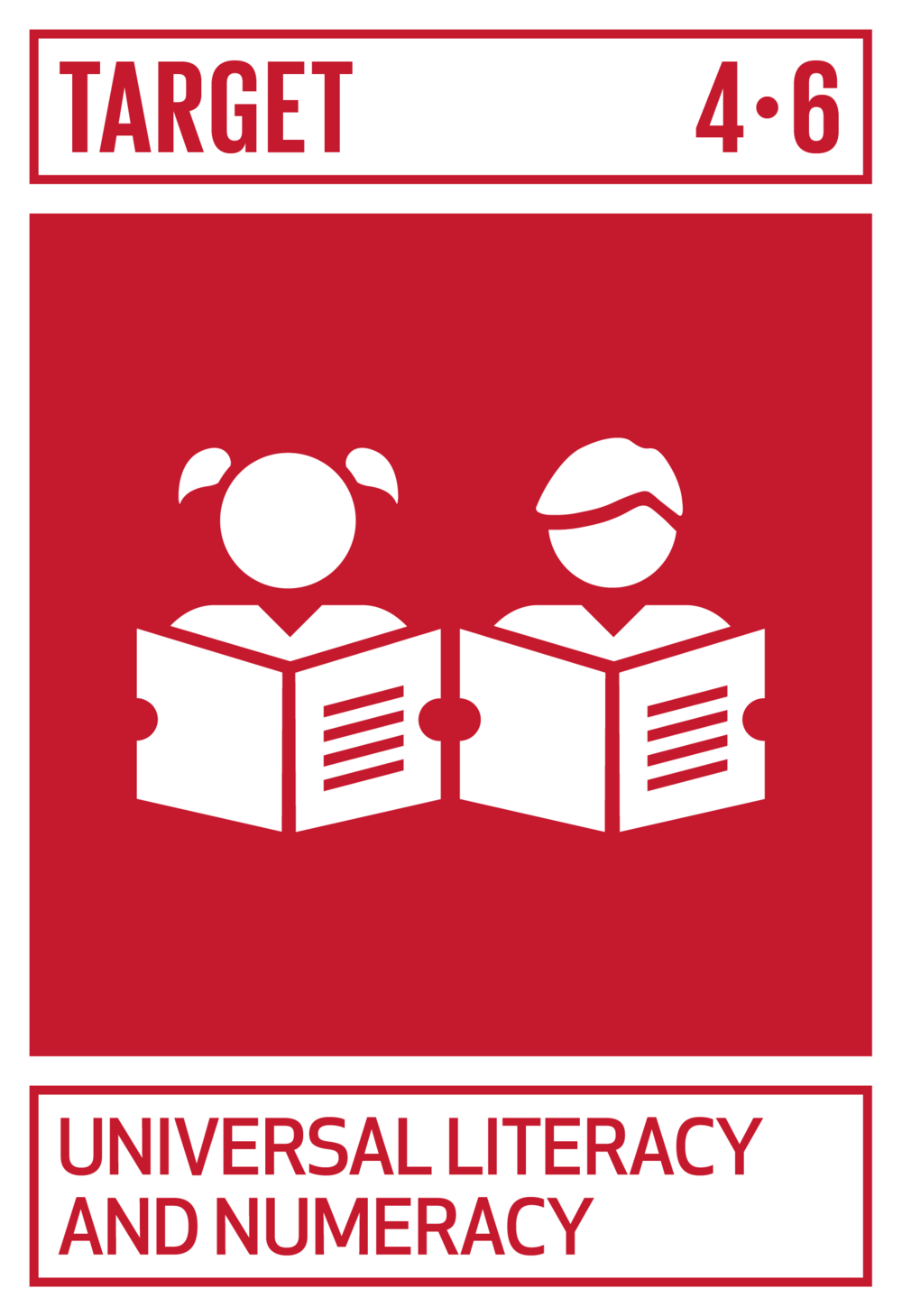 By 2030, ensure that all youth and a substantial proportion of adults, both men and women, achieve literacy and numeracy.   INDICATOR    4.6.1  Proportion of population in a given age group achieving at least a fixed level of proficiency in functional (a) literacy and (b) numeracy skills, by sex