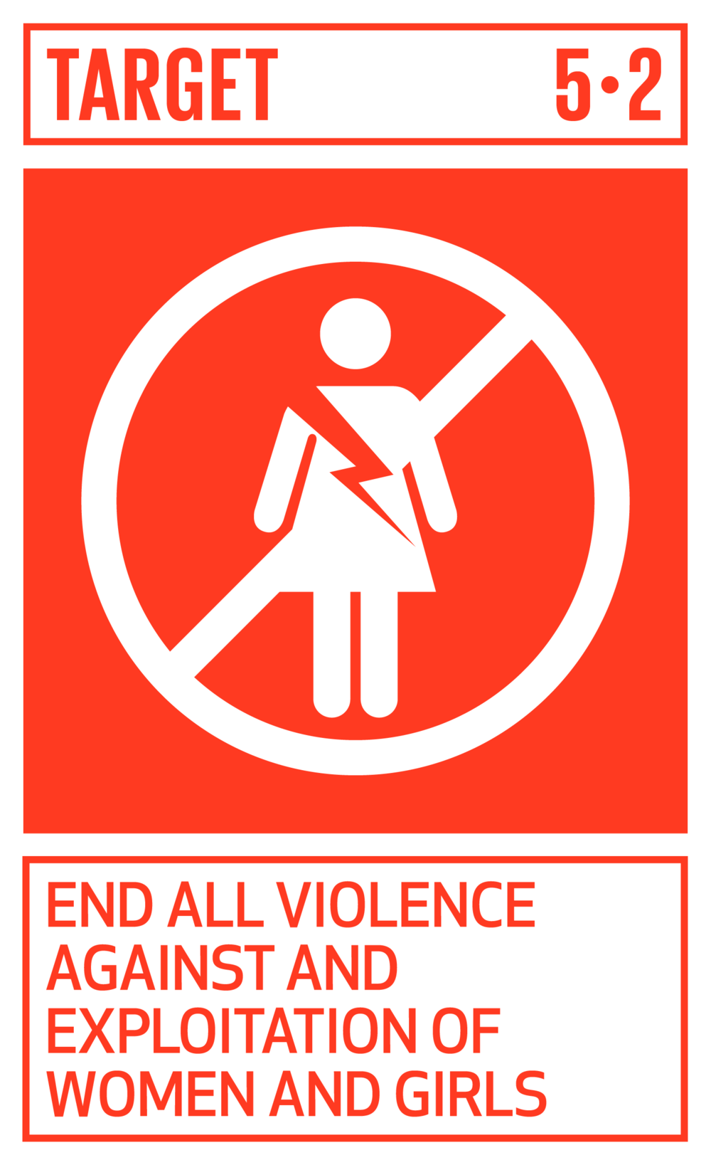 Eliminate all forms of violence against all women and girls in the public and private spheres, including trafficking and sexual and other types of exploitation.   INDICATORS    5.2.1  Proportion of ever-partnered women and girls aged 15 years and older subjected to physical, sexual or psychological violence by a current or former intimate partner in the previous 12 months, by form of violence and by age   5.2.2  Proportion of women and girls aged 15 years and older subjected to sexual violence by persons other than an intimate partner in the previous 12 months, by age and place of occurrence