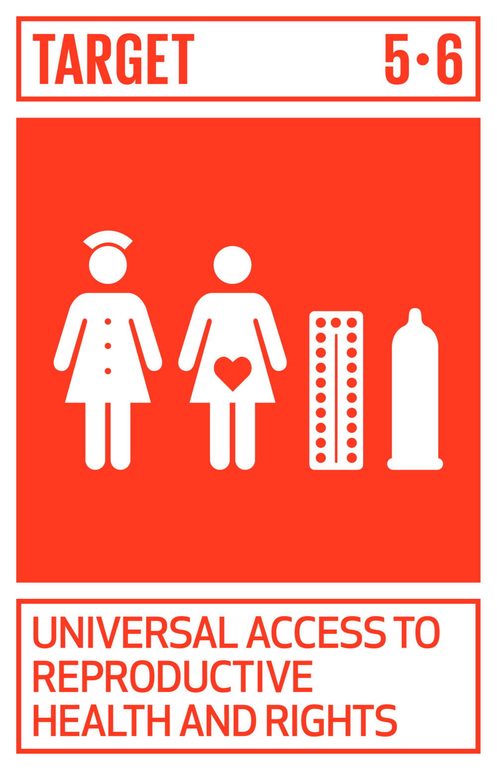 Ensure universal access to sexual and reproductive health and reproductive rights as agreed in accordance with the Programme of Action of the International Conference on Population and Development and the Beijing Platform for Action and the outcome documents of their review conferences.   INDICATORS    5.6.1  Proportion of women aged 15–49 years who make their own informed decisions regarding sexual relations, contraceptive use and reproductive health care   5.6.2  Number of countries with laws and regulations that guarantee full and equal access to women and men aged 15 years and older to sexual and reproductive health care, information and education