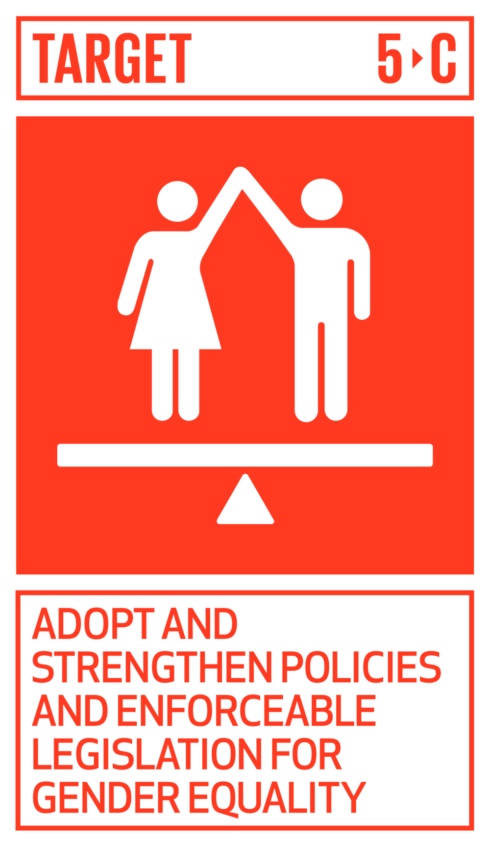 Adopt and strengthen sound policies and enforceable legislation for the promotion of gender equality and the empowerment of all women and girls at all levels.   INDICATOR    5.c.1  Proportion of countries with systems to track and make public allocations for gender equality and women's empowerment