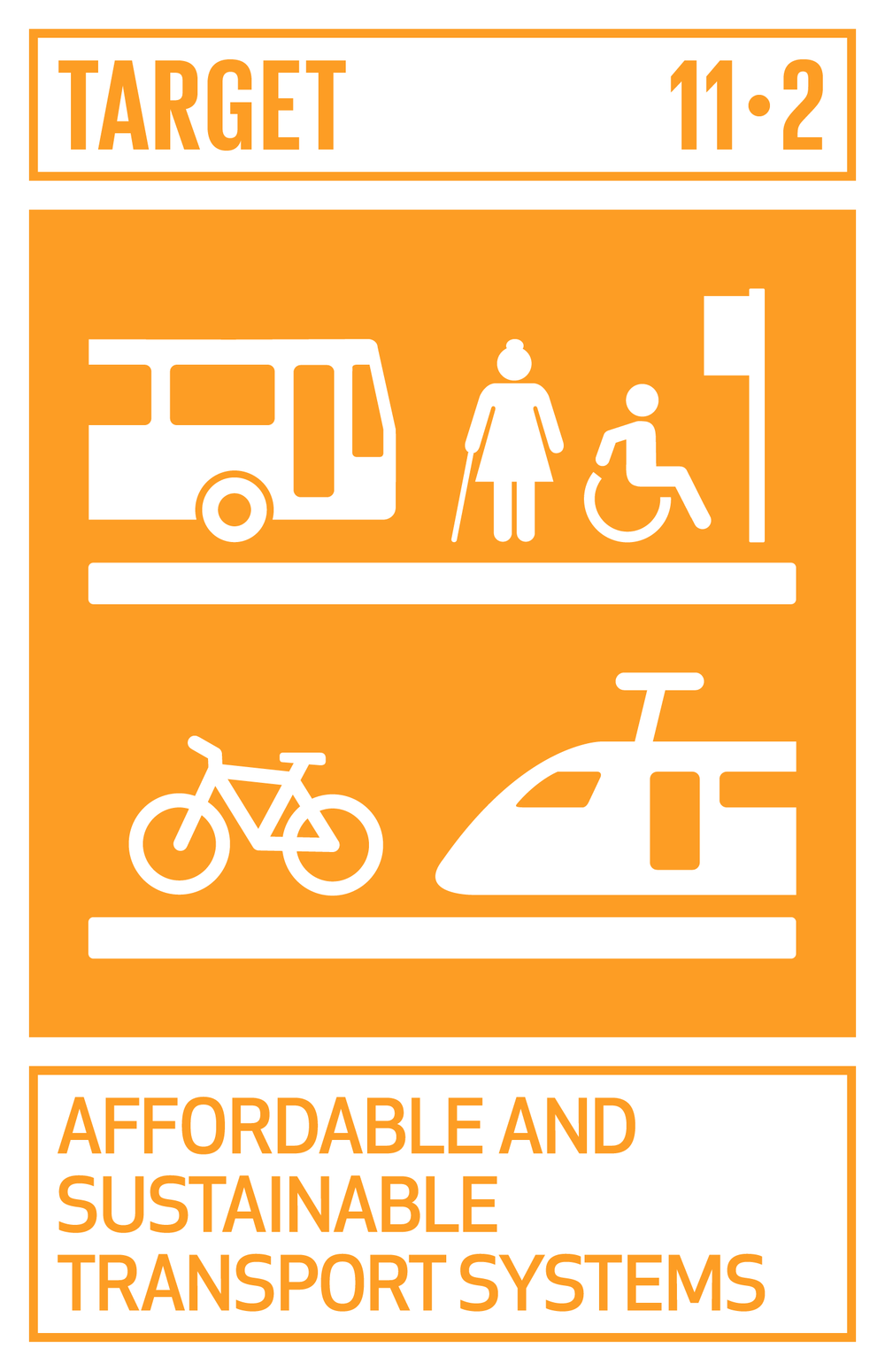 By 2030, provide access to safe, affordable, accessible and sustainable transport systems for all, improving road safety, notably by expanding public transport, with special attention to the needs of those in vulnerable situations, women, children, persons with disabilities and older persons.   INDICATOR    11.2.1  Proportion of population that has convenient access to public transport, by sex, age and persons with disabilities