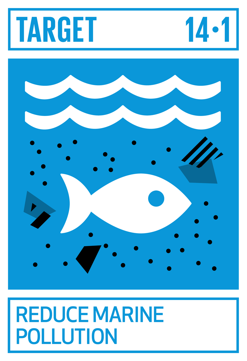 By 2025, prevent and significantly reduce marine pollution of all kinds, in particular from land-based activities, including marine debris and nutrient pollution.   INDICATOR    14.1.1  Index of coastal eutrophication and floating plastic debris density