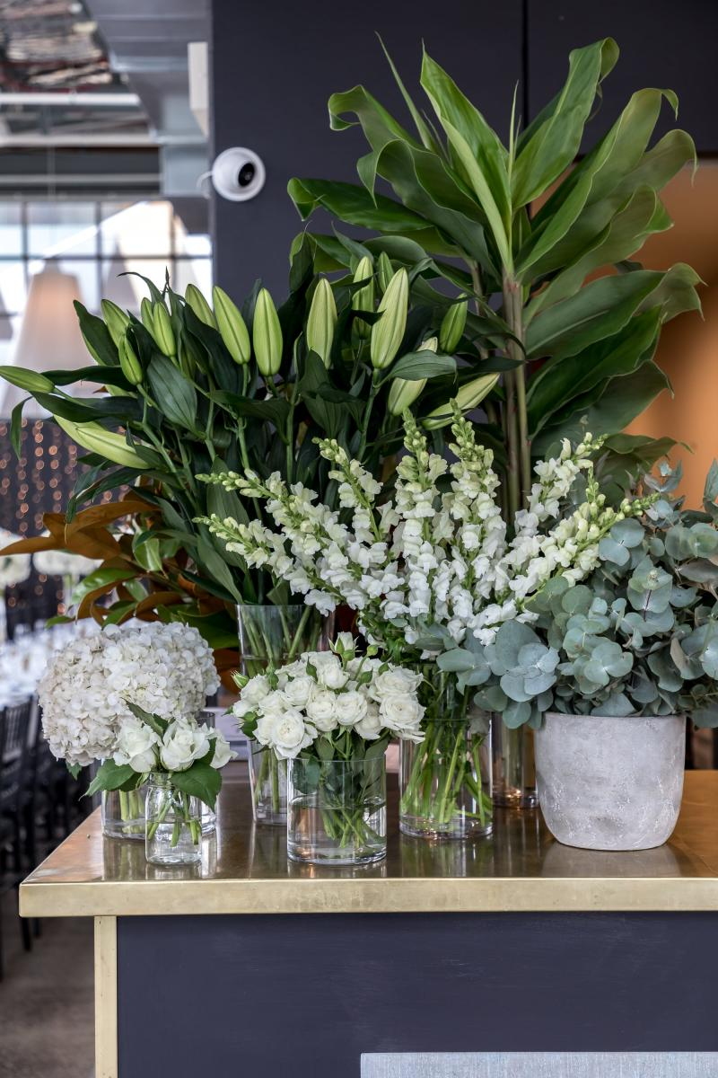 Floral arrangement at ALTO