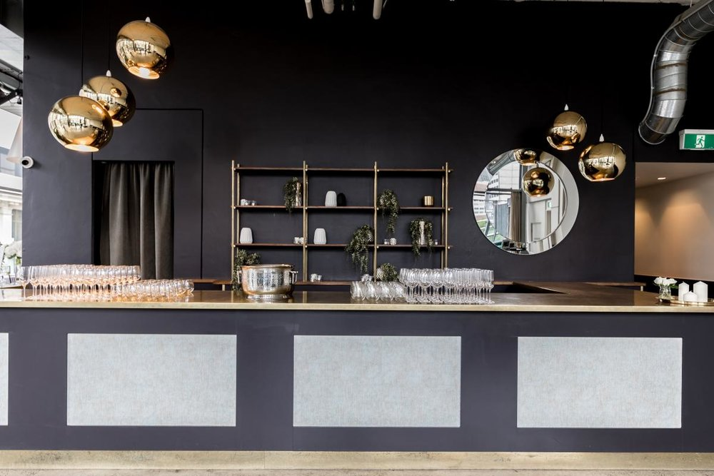 The bar at ALTO Event Space