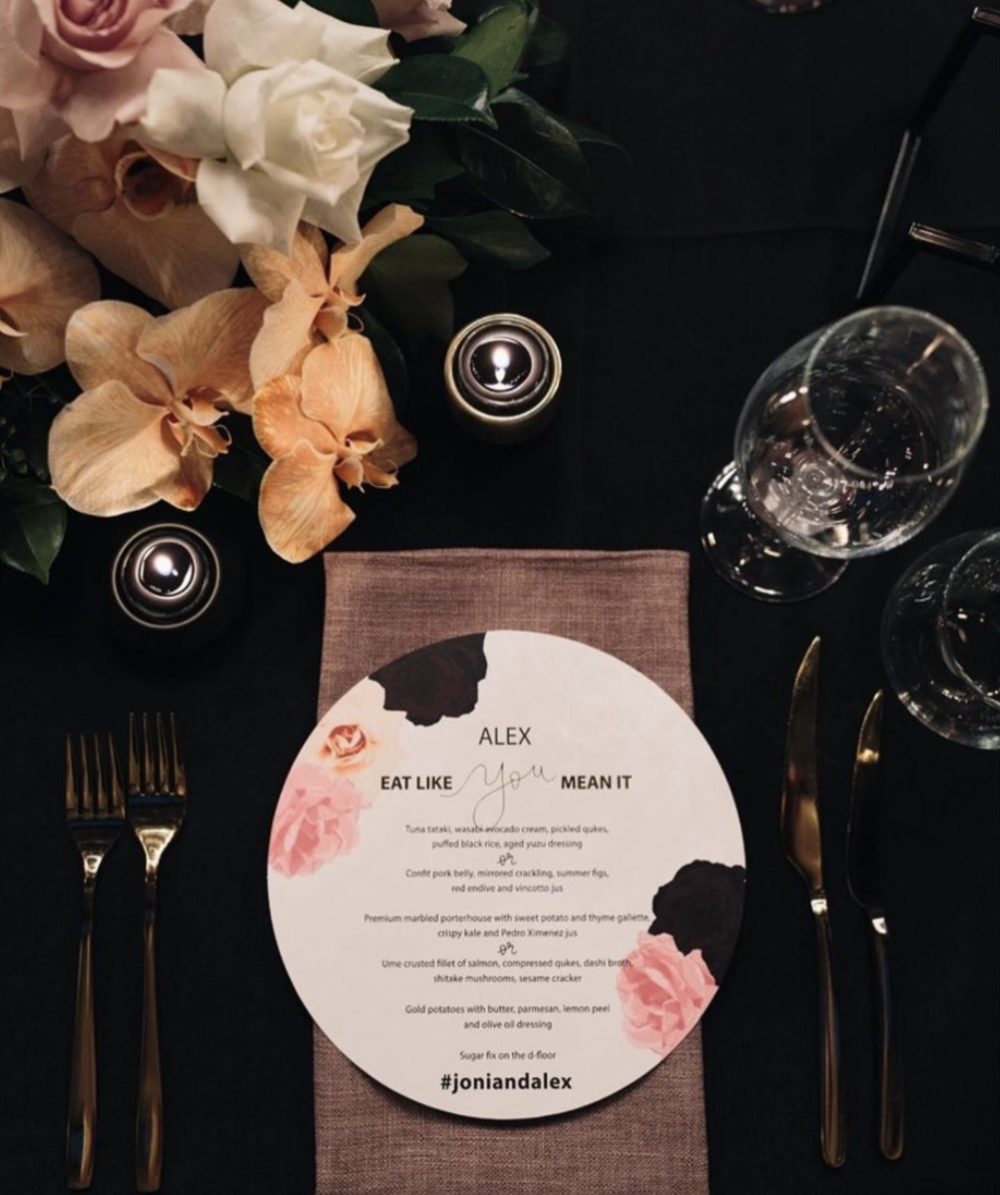 A Wedding Menu on display at the Alto Event Space.png