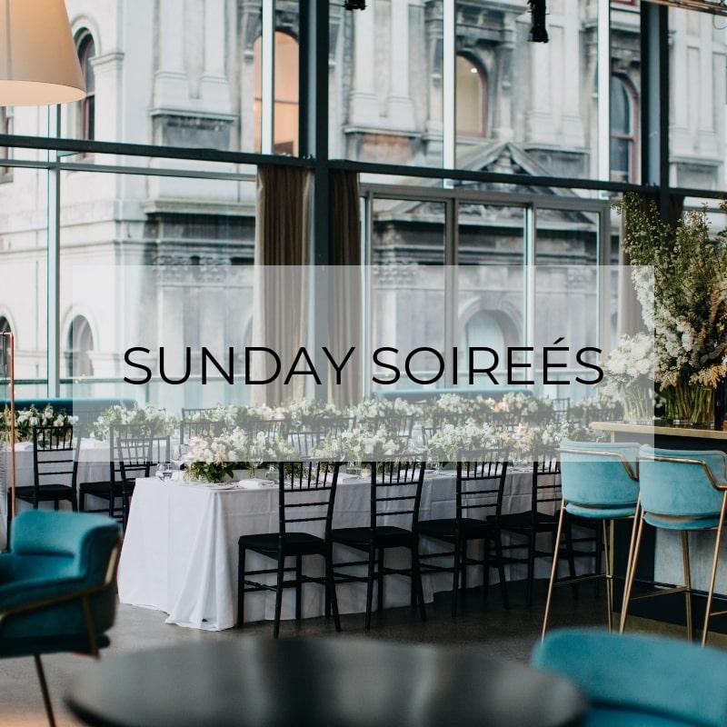 SUNDAY SOIREES
