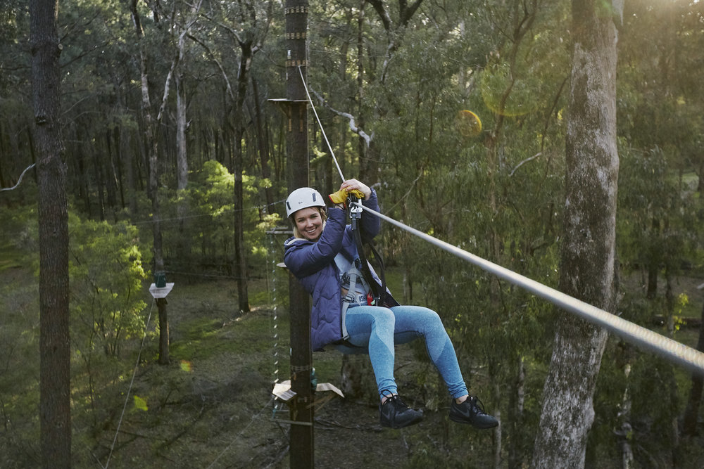 Adrenalin Hit #2 - Forest Adventures High Ropes Course