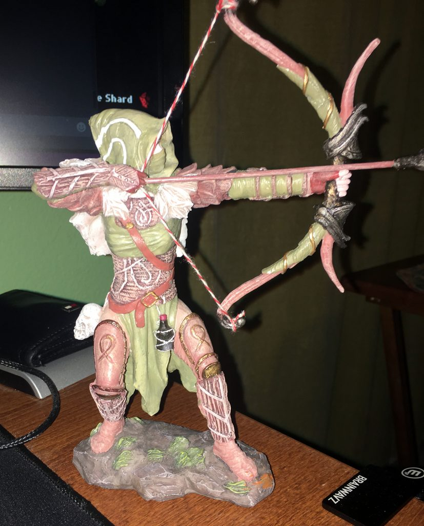 Custom Kerillian statue -