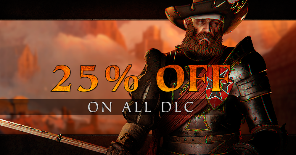 More action awaits! - Now you can get a 25% discount on both Shadows over Bögenhafen, and Back to Ubersreik on the Steam Lunar New Year Sale!
