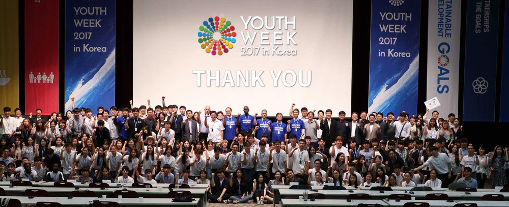 YOUTH WEEK 2017,   GOYANG, SOUTH KOREA