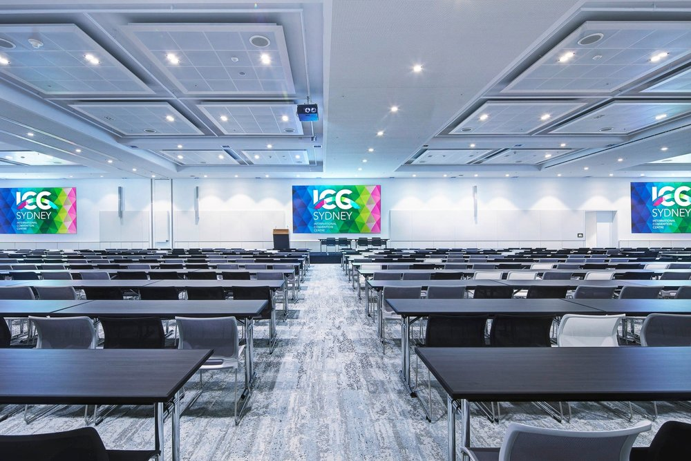 8,000 sqm of total meeting room space across 70 rooms that link to both the convention and exhibition areas -