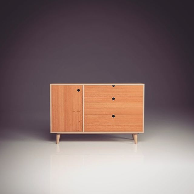 OOTW: new online shop launching tomorrow.  SB3 shown here in American Cherry. £1195, free uk delivery until the new year.  #ootw #birchbyootw #plywoodfurniture #furnituredesign #interiordesign #cherry #midcenturymodern