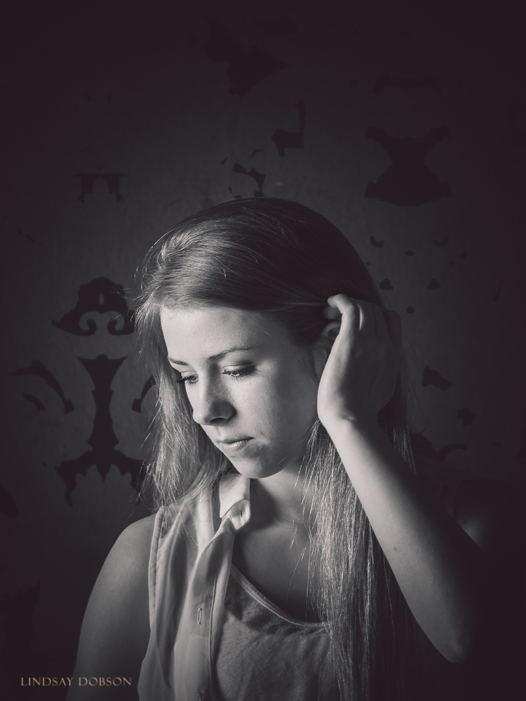 black and white childrens portraits west sussex