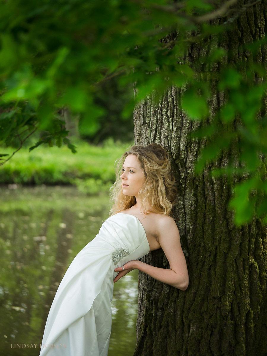 natural light bride portraits west sussex