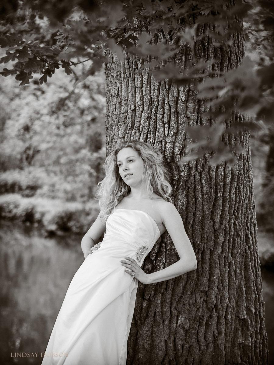 wedding dress photo shoot west sussex