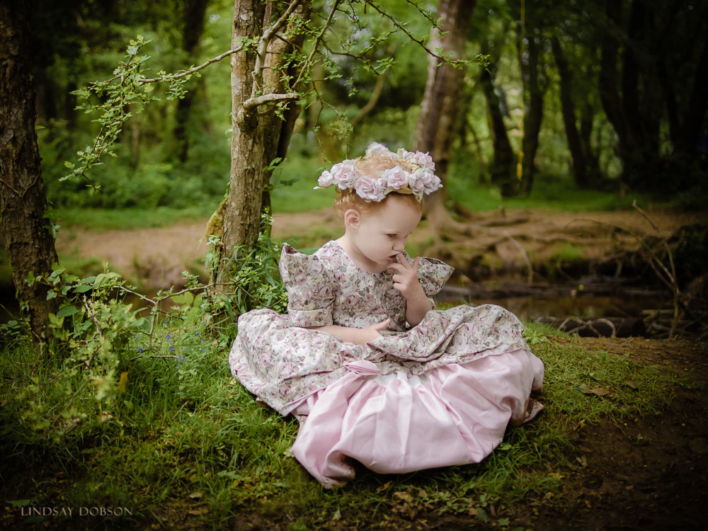 whimsical woodland portraits of children west sussex