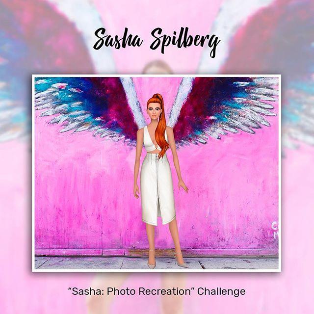 Another idea for all the Sasha's wannabes! ❤️😊 #trendystylistgame #gamergirl #fashiongame #sashaspilberg #style
