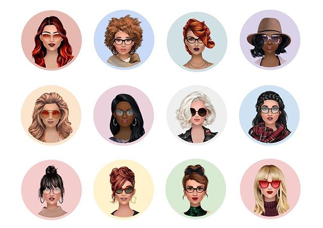 Looking for some glasses? You can find lots of them in the accessories category! 😎 #sunglasses #glasses #fashion #dressupgame #trendystylistgame