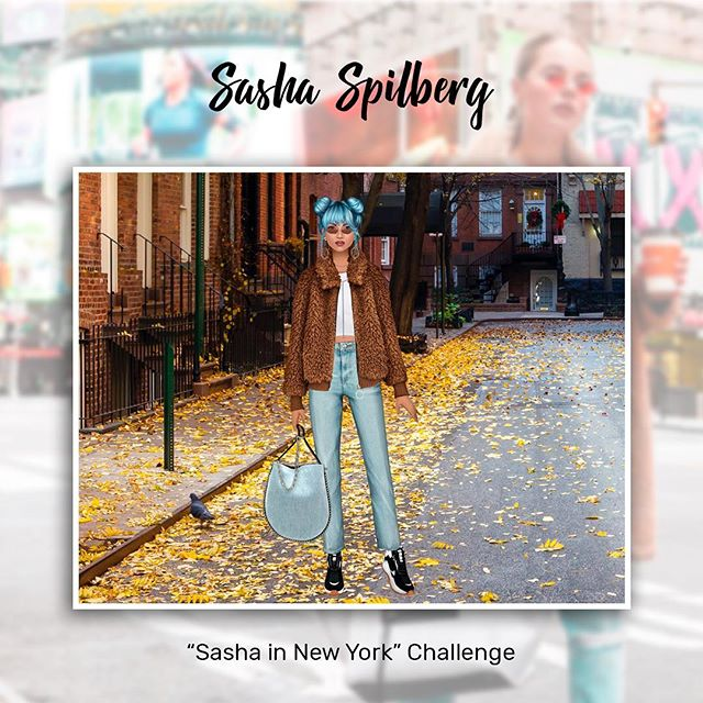 Go wild in Sasha Challenges and be the one you always wanted to be! 😃 #bluehair #trendystylistgame #sashaspilberg #dressupgames #fashionapp #style