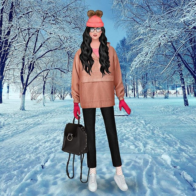 Don't forget to use your favorite jacket this winter! 😍 #femalegamer #trendystylistgame #gamergirl #dressupgame