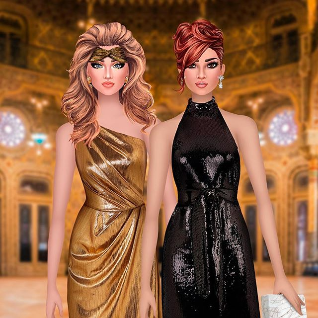 Do you have that awesome outfit for the New Year's Eve yet? #femalegamer #nye #2019 #trendystylistgame #happy2019 #dressupgame #fashionapp