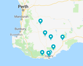 Click on the map to see the schools and institutions