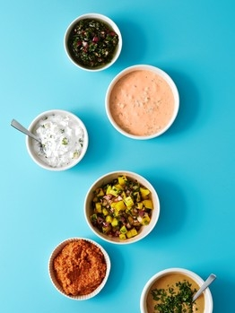 """""""No-Cook Sauces for Summer Grilling"""" The Wall Street Journal"""