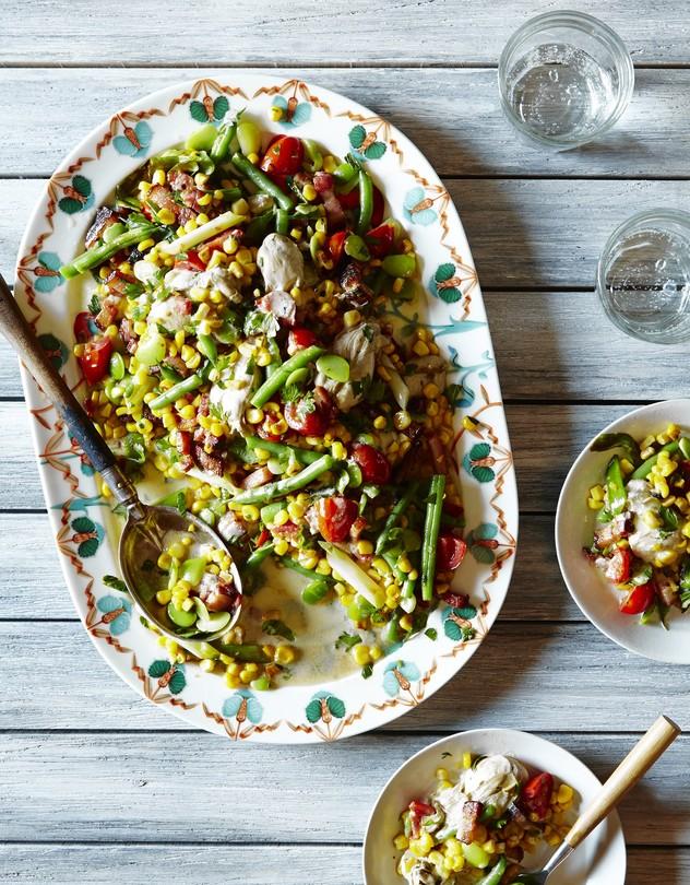 """Recipes for Succotash Season"" The Wall Street Journal"