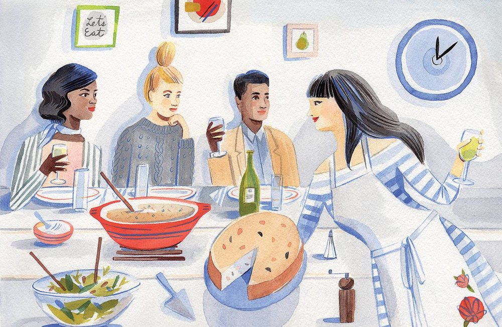 """""""How to Win at Brunch: It's All in the Timing"""" The Wall Street Journal"""