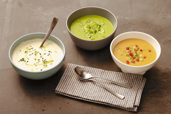 """""""Gazpacho Recipes in Shades of Red, Green and White"""" The Wall Street Journal"""