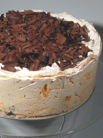 """Chocolate Angel Pie"" The Unconfidential Cook"