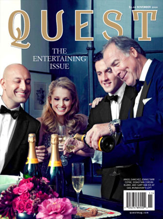 The Entertaining Issue Quest Magazine