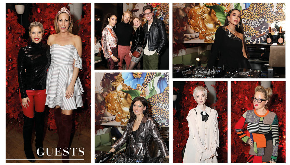 It was a vip packed event with with Zara Martin, Portia Freeman, Pips Taylor, Laura Pradelska, Dj Robyn, Alistair Guy and Erica Bergsmeds attending.