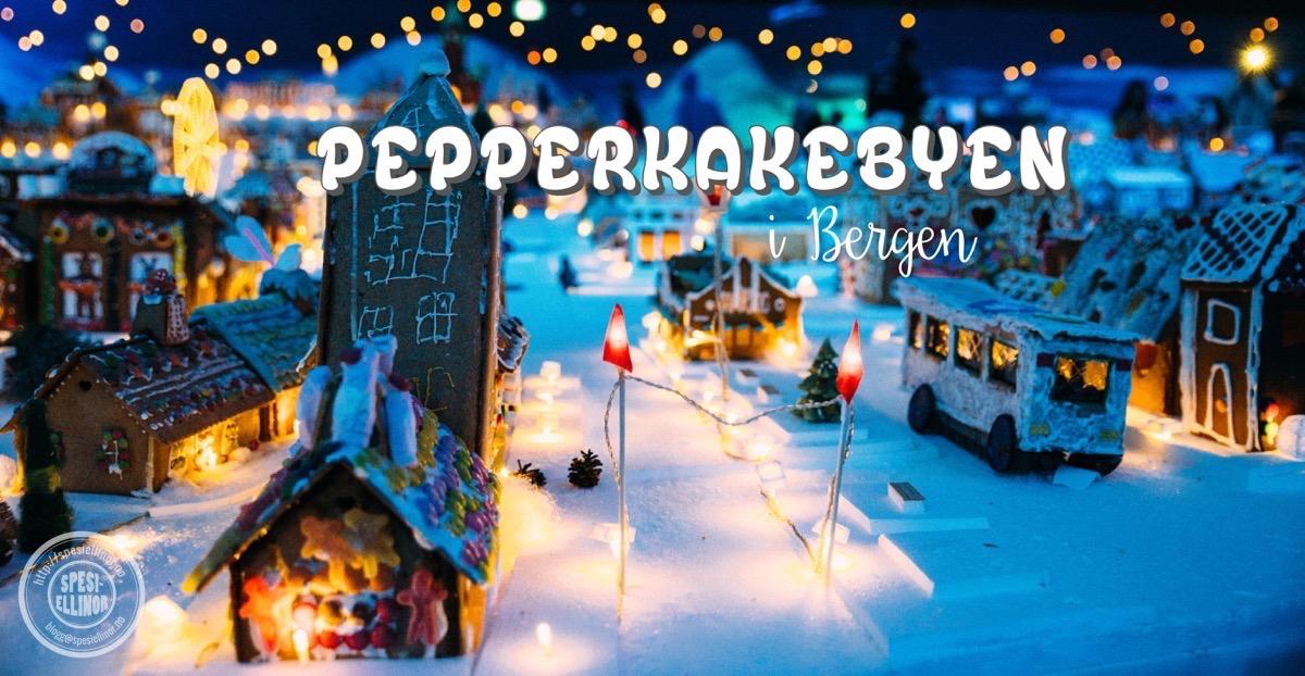 Pepperkakebyen i Bergen 2016