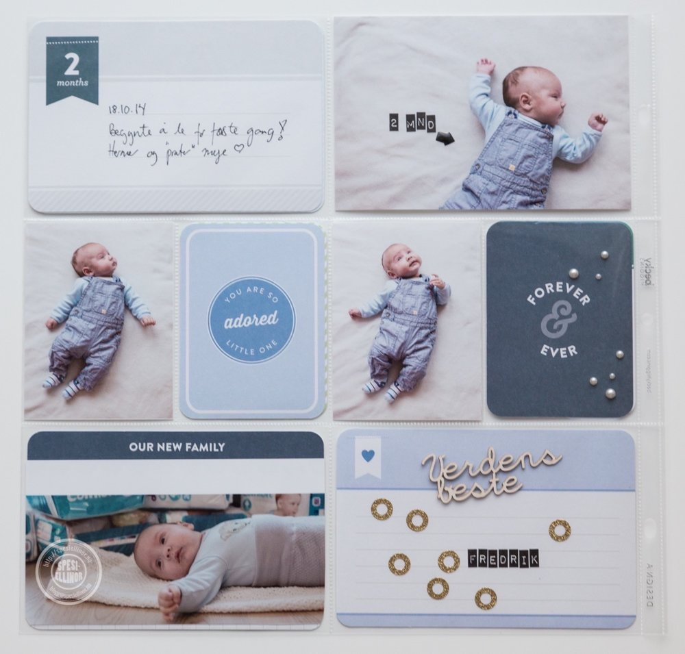 Baby project life 2 months