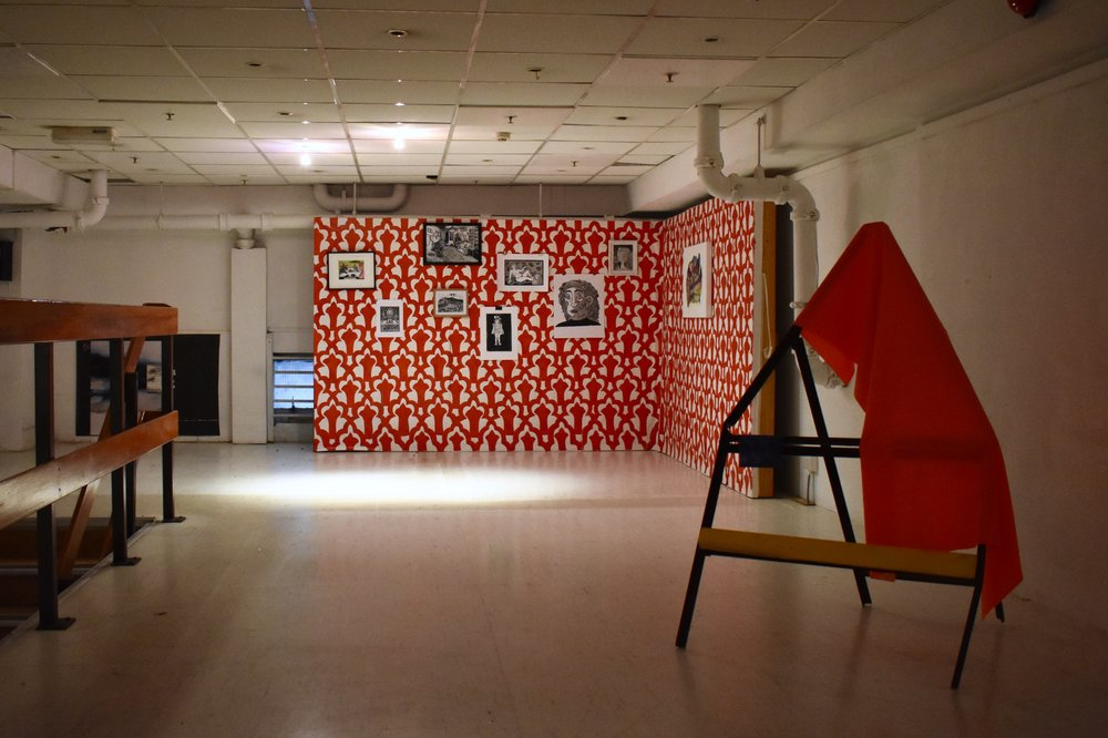 The residency exhibition featuring work by the two other residence artists, Marie Gerard and Rosie McGinn