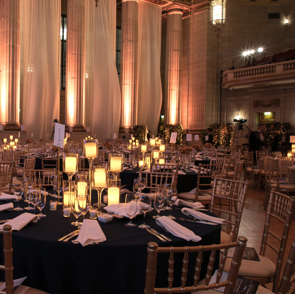 EVENT & PRODUCTION DESIGN - We produce events full of surprise with a process that's free of it.
