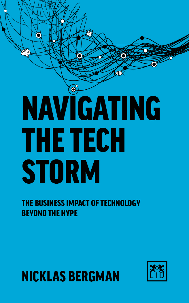 - In the updated and expanded second edition of Surviving the Techstorm, Nicklas Bergman introduces new tools to understand the rapidly changing technology landscape. The book starts with the big picture and global megatrends and continues with a current perspective of major technological waves. Then Nicklas is focusing the majority of the book on a framework to analyze the most relevant technologies and identifying the right timing, assessing the business implications from competition, customer and company perspectives, and finally adapting to a new and uncertain reality.Not only is it important to understand what is happening in the world of technology and innovation, you also need to have a clear understanding of how this will change the way you lead and organize for innovation and sustainability. For all existing och aspiring leaders, understanding these perspectives are absolutely necessary in the coming years and decades.Read an excerpt »