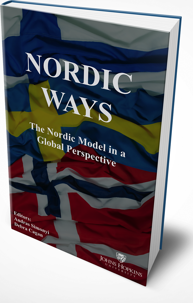 Nordic Ways - The Nordic Model in a Global Perspective (2016) - The Nordic countries have been consistently successful and are leaders on a range of global issues. This book explores some of the underlying factors and looks closely at what makes the Nordics successful, but also at the challenges that remain. The notion of Nordic coolness, efficiency and resilience has swept through the U.S. in the arts and design world and in political debates; it has become a staple in discussions about societal, environmental and gender issues. International statistics show Nordic countries occupying top spots when it comes to quality of life, beautiful and livable cities, close to zero corruption.The historic ties between the Nordic countries and the United States are important underpinnings to their achievements. But then: There is no country big enough to face the global challenges alone, and there are no countries too small not to be able to make a difference. In a totally interconnected world inspiration can and should come from everywhere and anywhere.