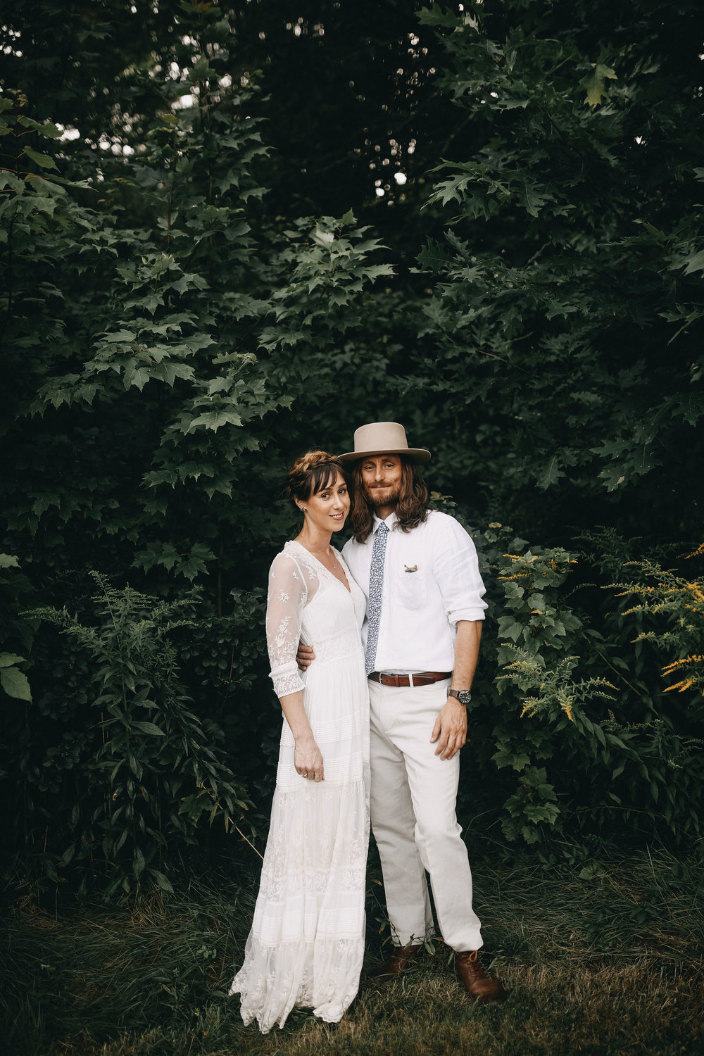 Surrounded by their closest family and friends, Bridget and Ganesh wanted their wedding to feel like a festival, one where they just happened to be getting married. Most guests stayed on the property for the entirety of the four-day weekend.